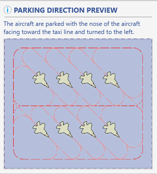 GeoExPT's Aircraft Parking Directions